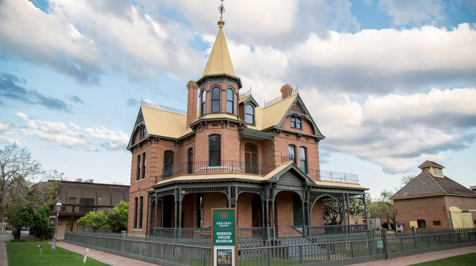 Rosson House Museum, Phoenix, USA - Sheet1