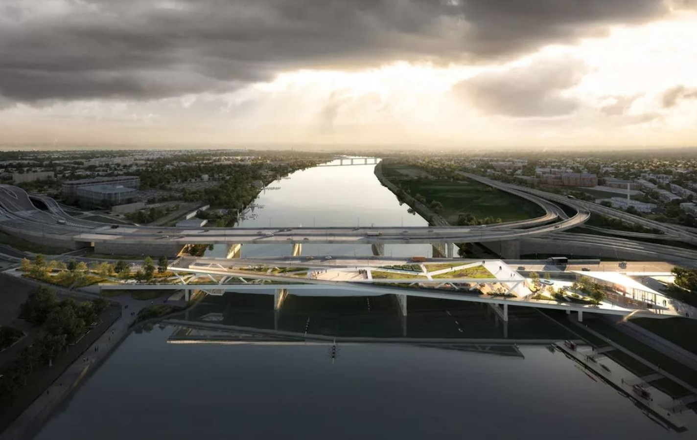 11th Street Bridge Park by Rem Koolhaas: Uniting the divided city - Sheet1