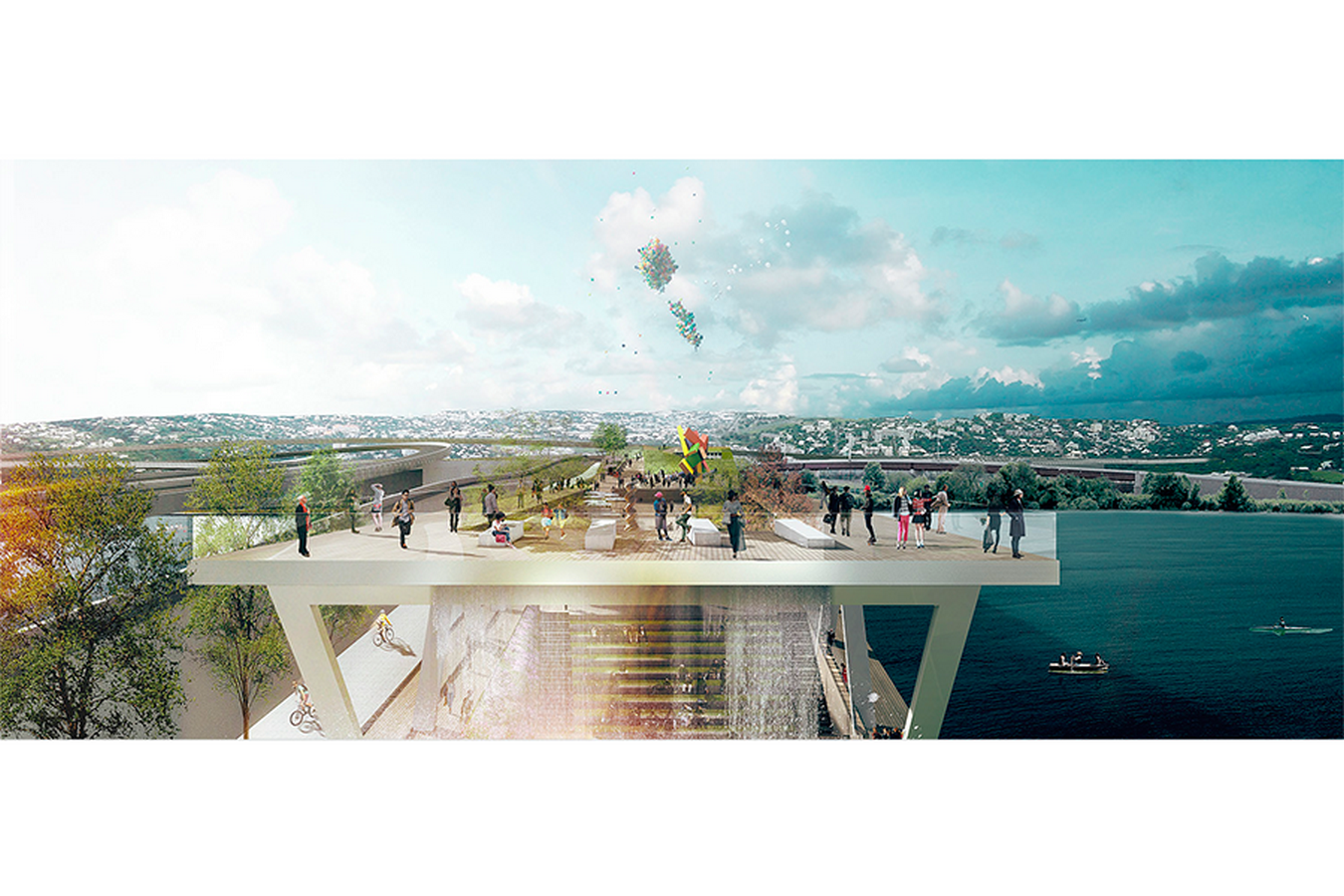 11th Street Bridge Park by Rem Koolhaas: Uniting the divided city - Sheet13