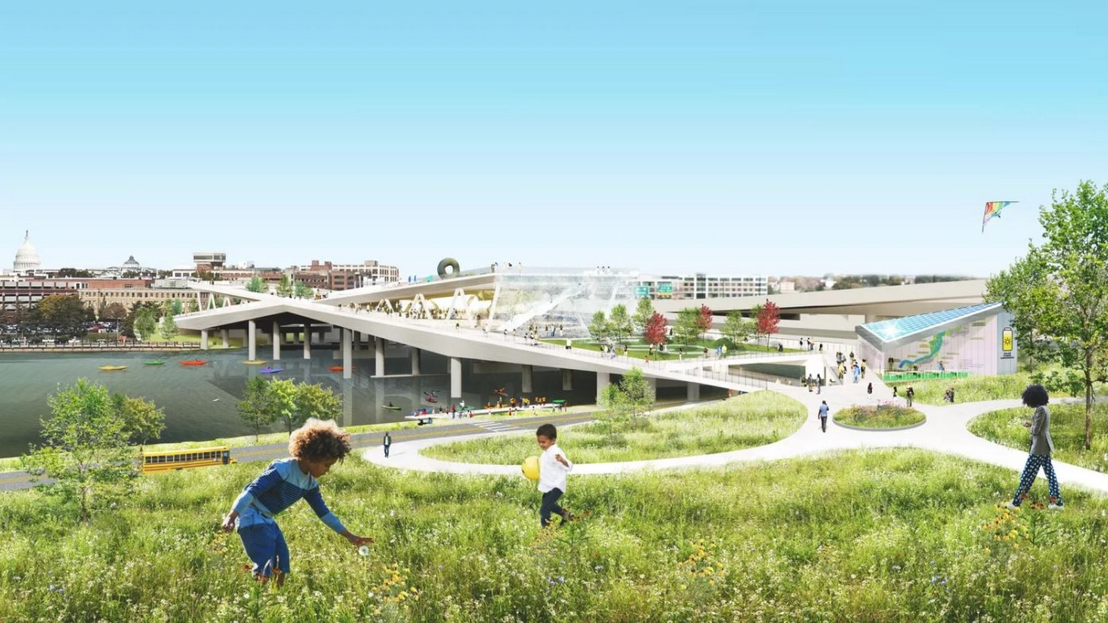 11th Street Bridge Park by Rem Koolhaas: Uniting the divided city - Sheet18