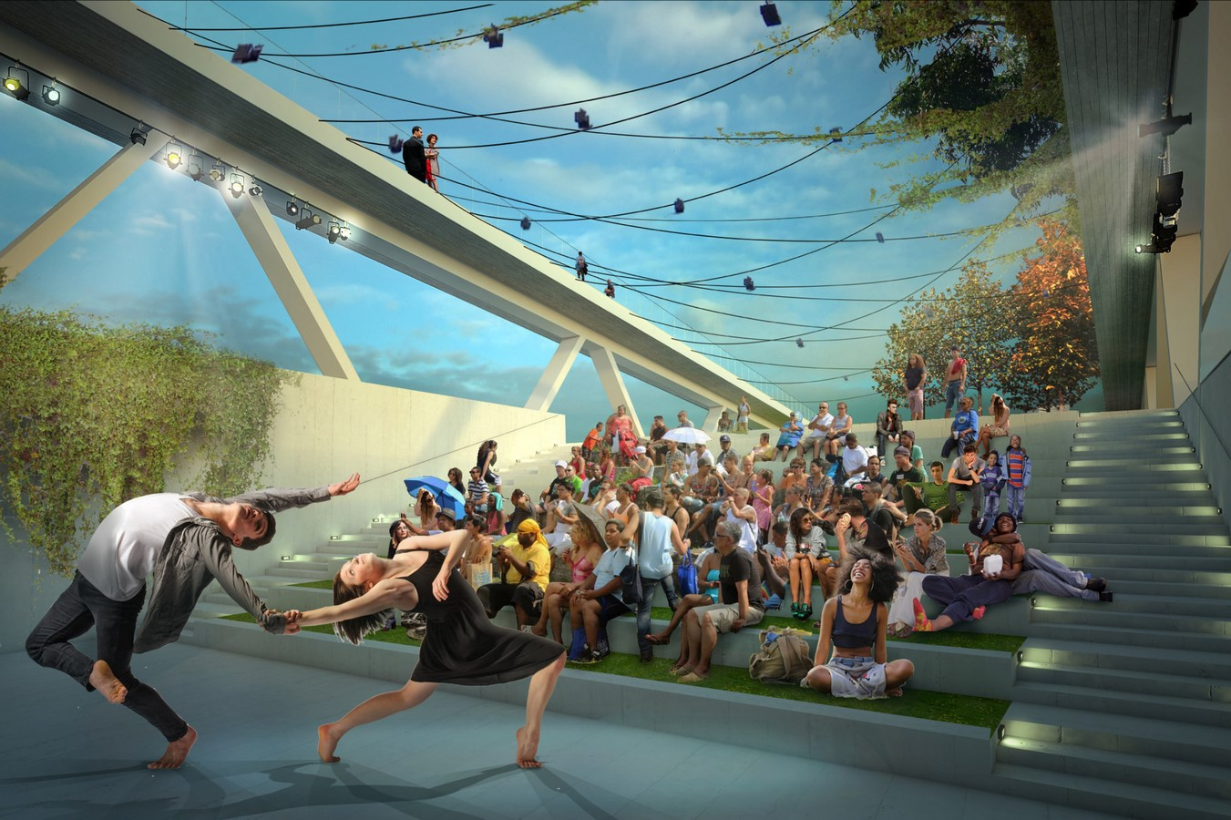 11th Street Bridge Park by Rem Koolhaas: Uniting the divided city - Sheet22