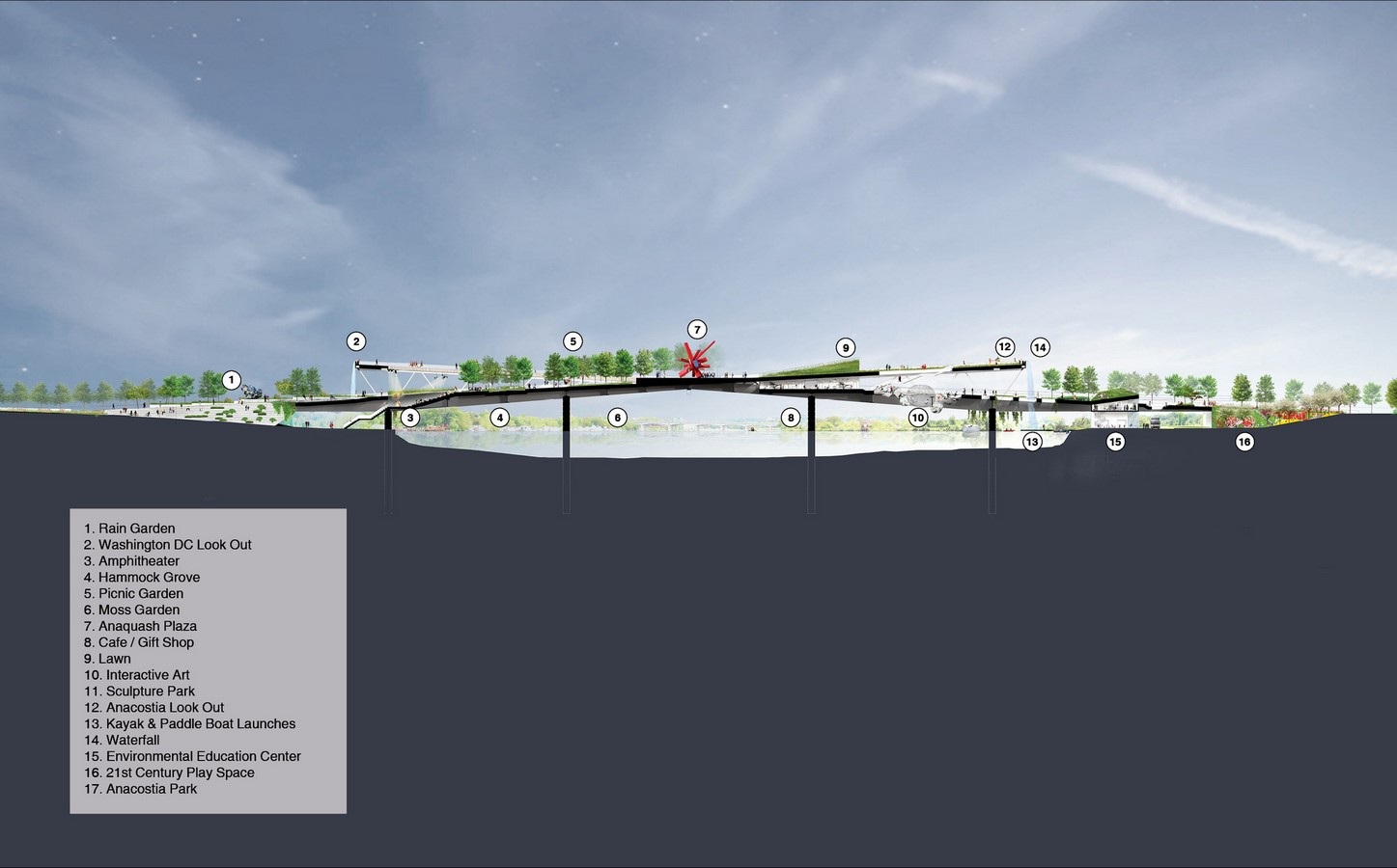 11th Street Bridge Park by Rem Koolhaas: Uniting the divided city - Sheet7