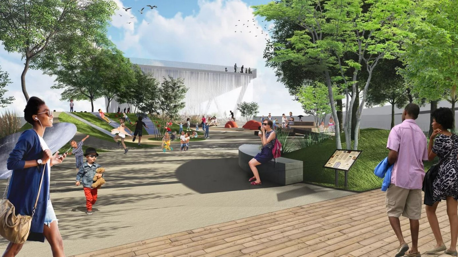 11th Street Bridge Park by Rem Koolhaas: Uniting the divided city - Sheet9