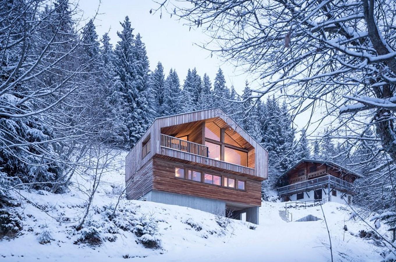 Mountain House - Studio Razavi Architecture - Sheet1