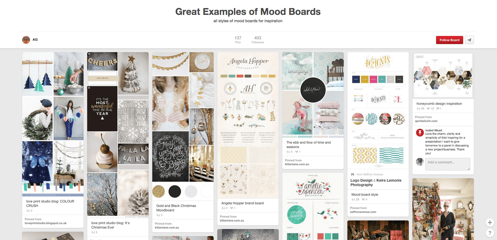 10 things to remember while designing a mood board - Sheet9
