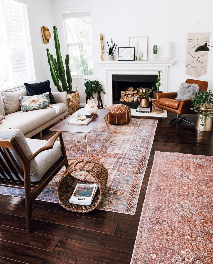 10 Ways to style rugs in your home! - Sheet13