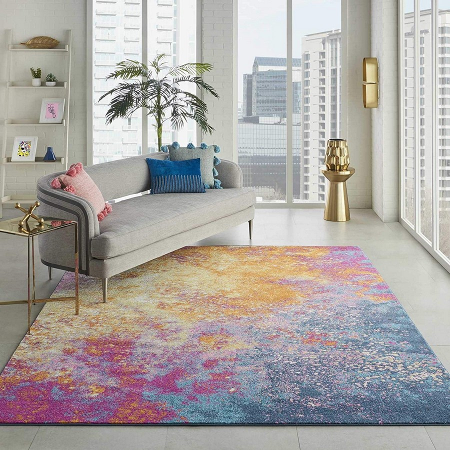 10 Ways to style rugs in your home! - Sheet20