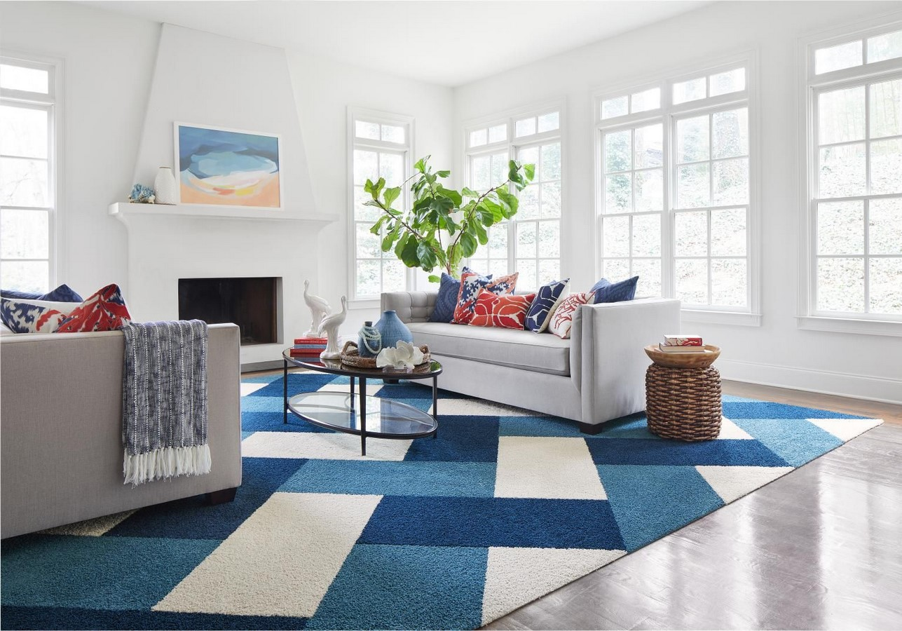 10 Ways to style rugs in your home! - Sheet21