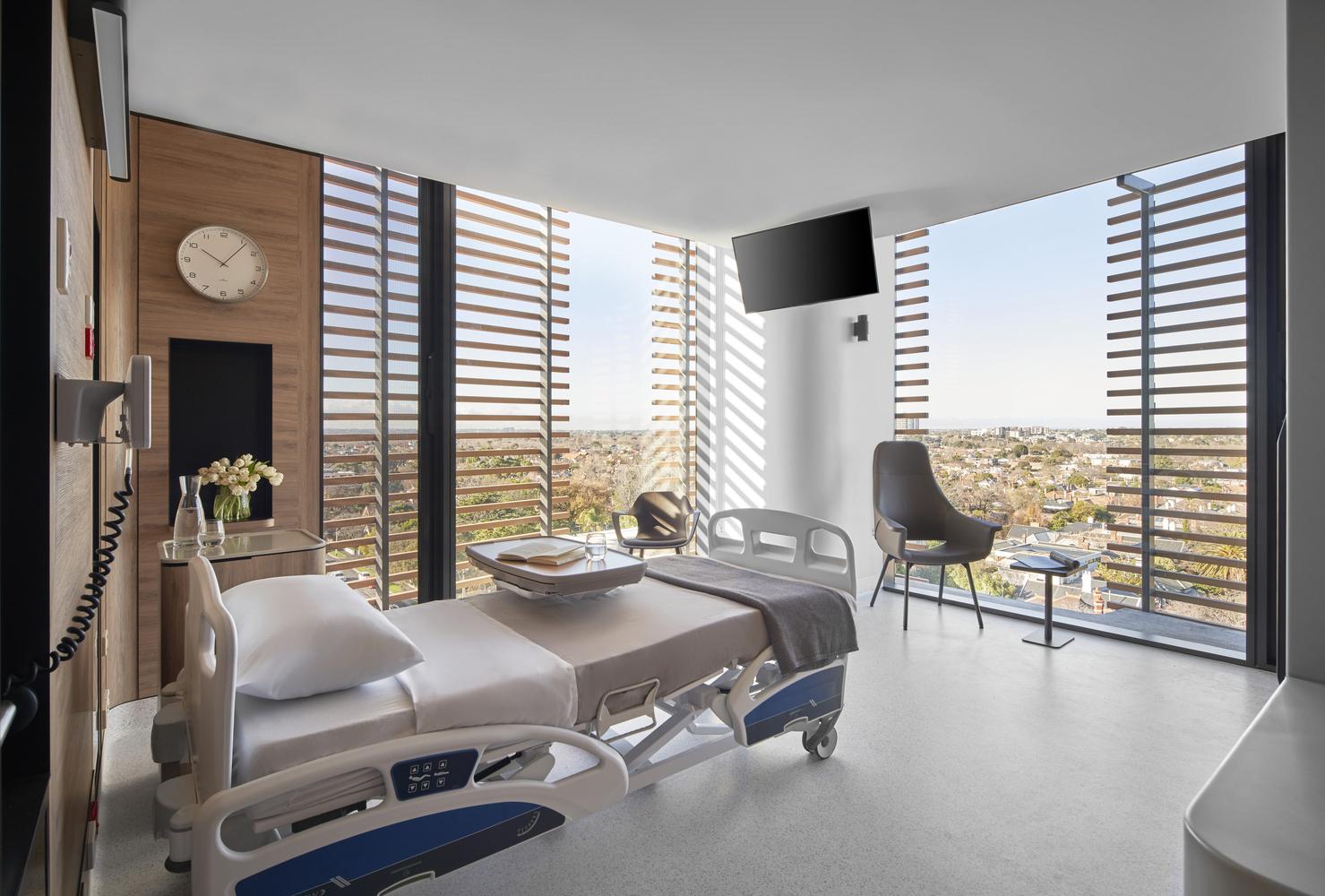 The Gandel Wing, Cabrini Malvern Hospital, Australia (2019) - Sheet3