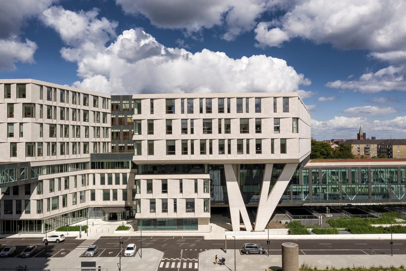 Rigshospitalet Hospital North Wing, Denmark (2020) - Sheet2