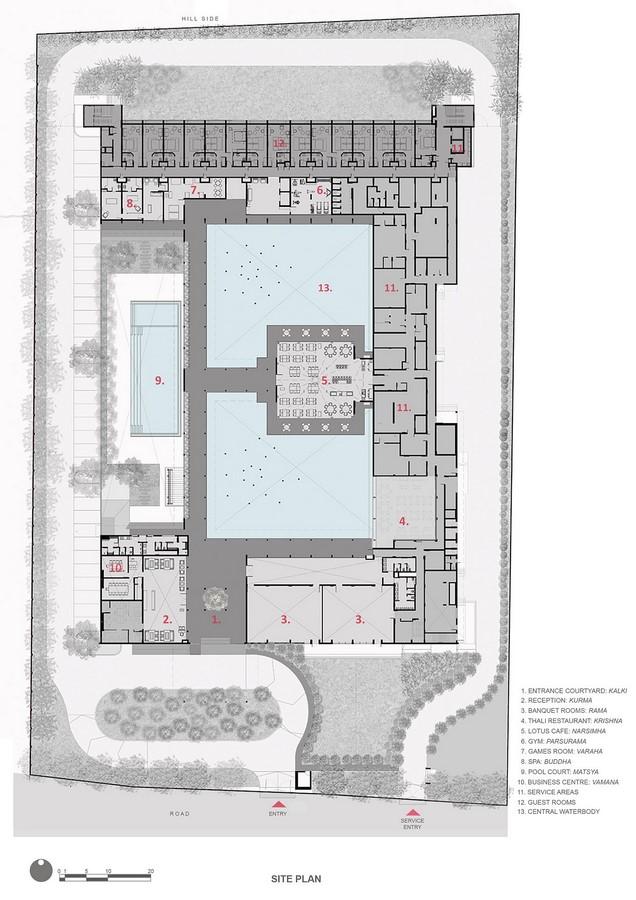 The Dasavatara Hotel by Shimul Javeri Kadri: An Architectural representation of Lord Vishnu - Sheet5