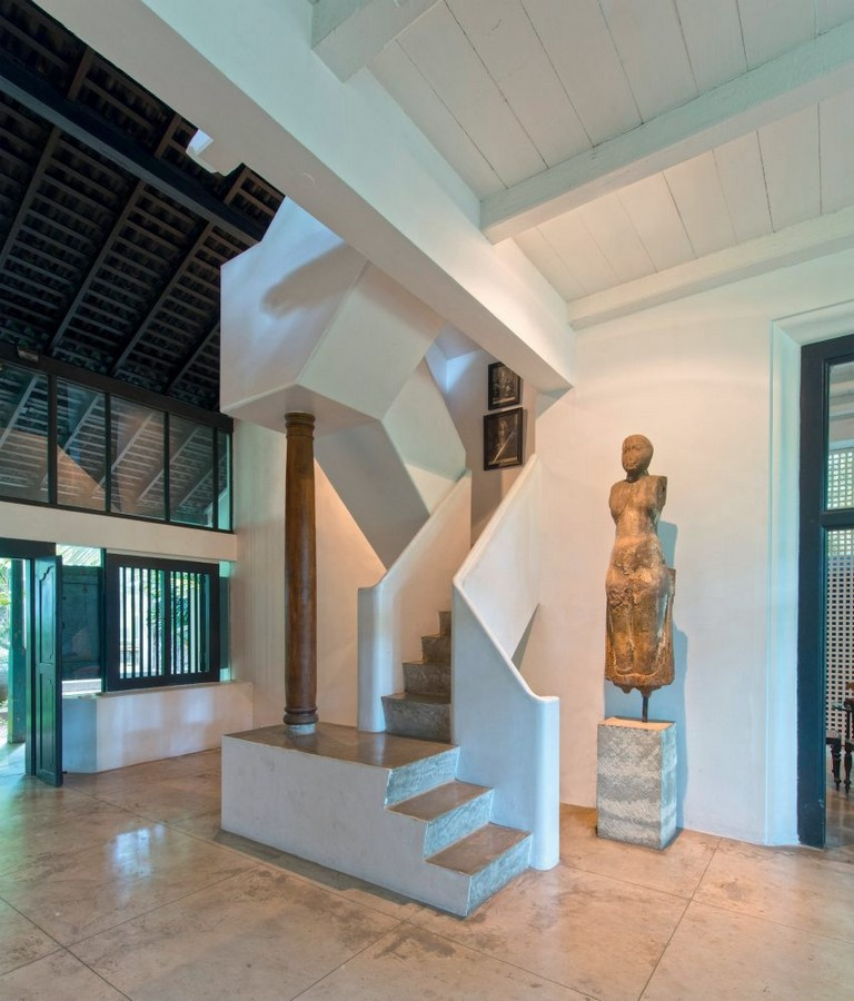 10 Staircases designed by Geoffrey Bawa - Sheet7
