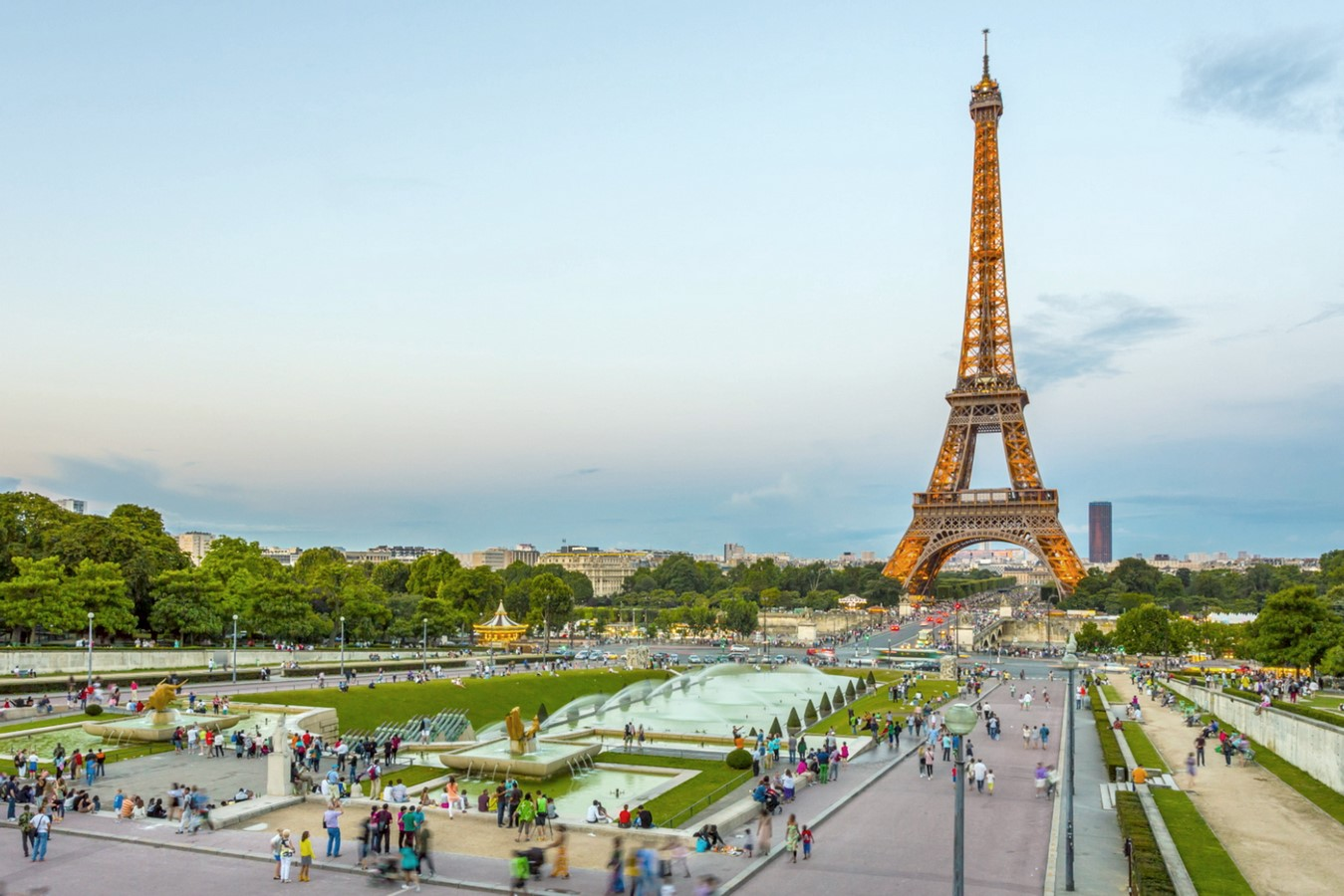 Eiffel Tower, Champs De Mars - Sheet1