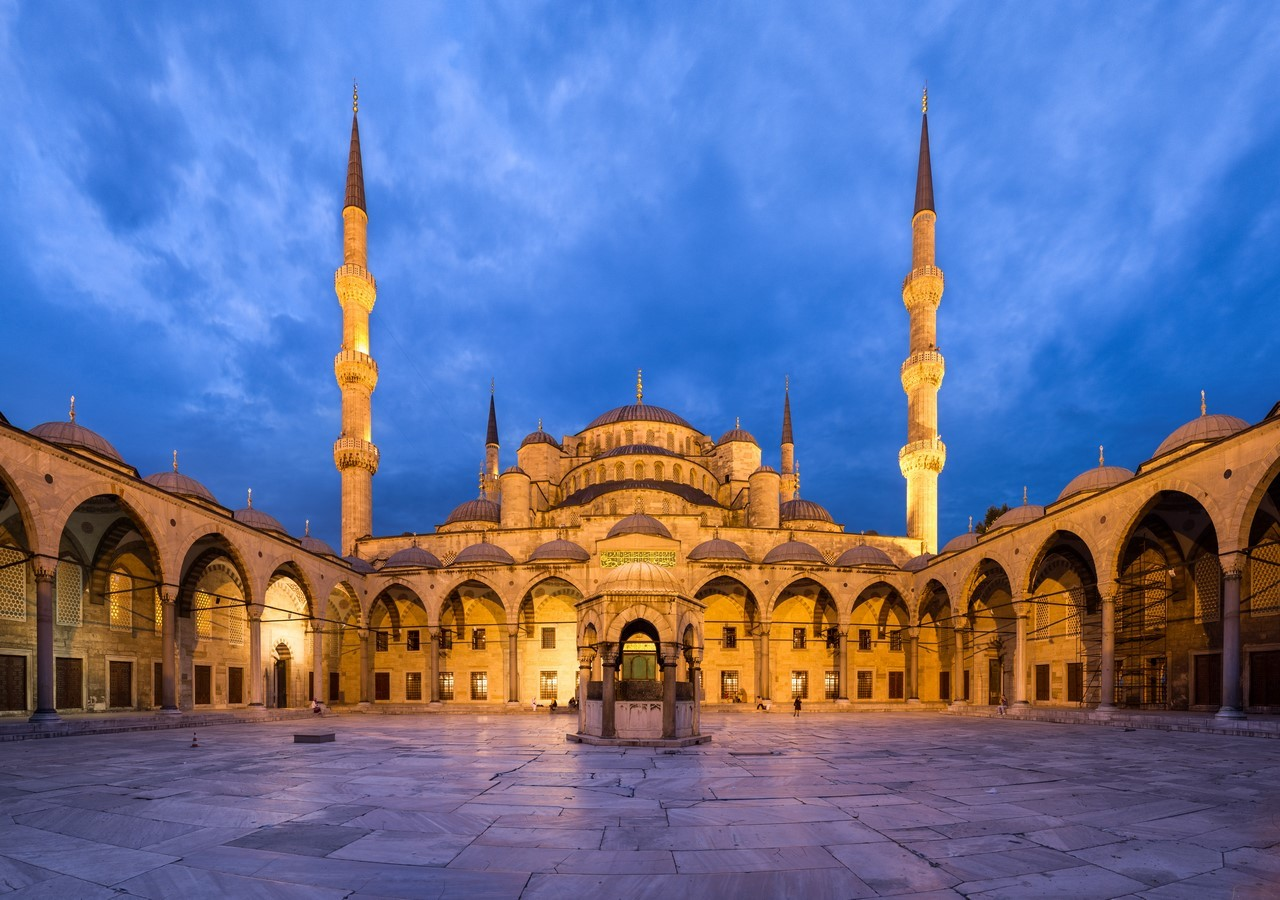 SULTAN AHMED MOSQUE (BLUE MOSQUE) - Sheet1