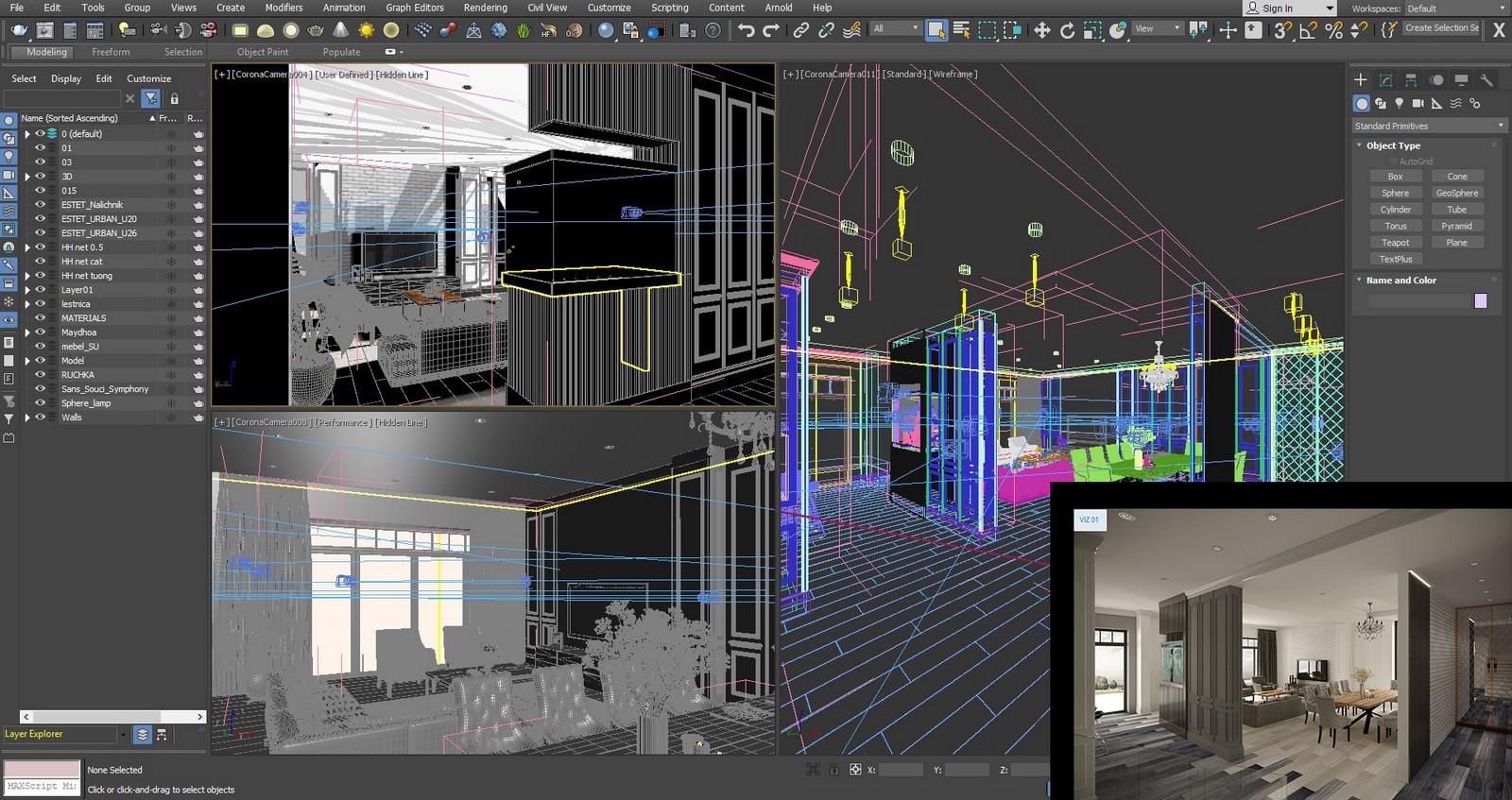 Autodesk 3ds Max - Sheet2