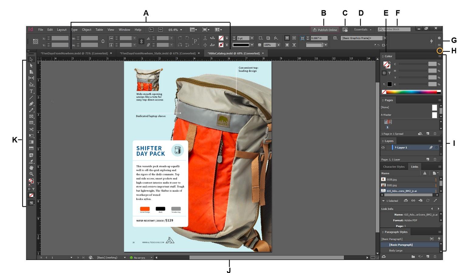 Adobe Indesign Sheet1