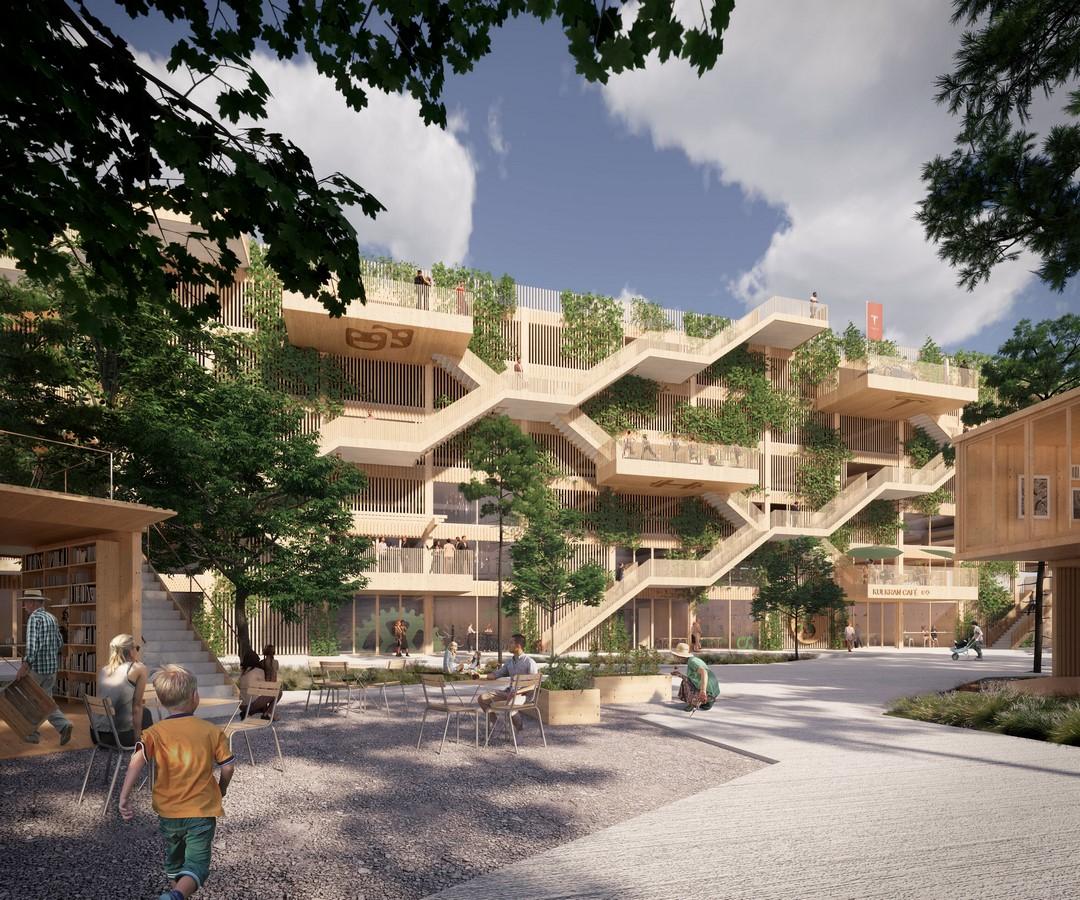 Wooden Parking House - Sheet1