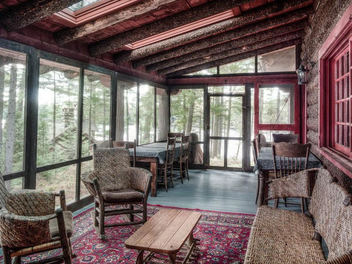 "Adirondack Architecture- The ""American Vacation"" architecture - Sheet14"