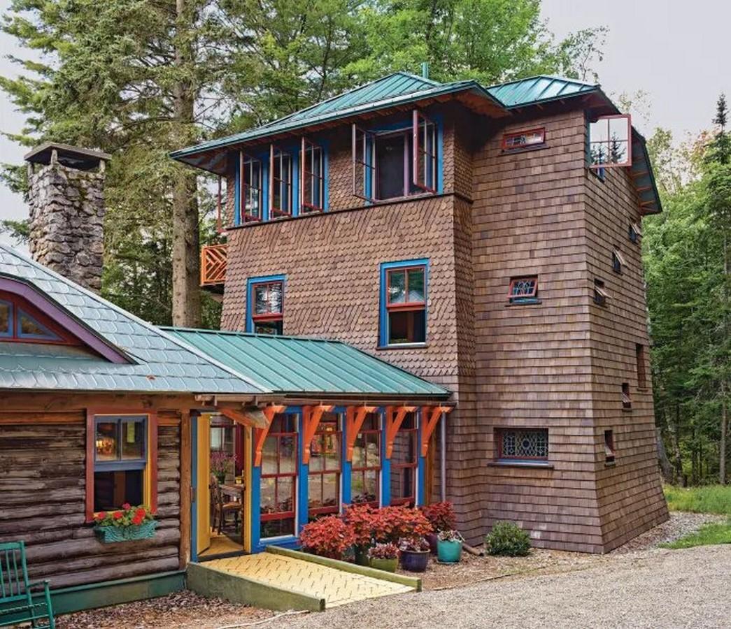 "Adirondack Architecture- The ""American Vacation"" architecture - Sheet16"