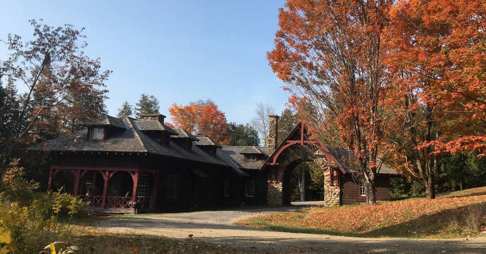 "Adirondack Architecture- The ""American Vacation"" architecture - Sheet7"