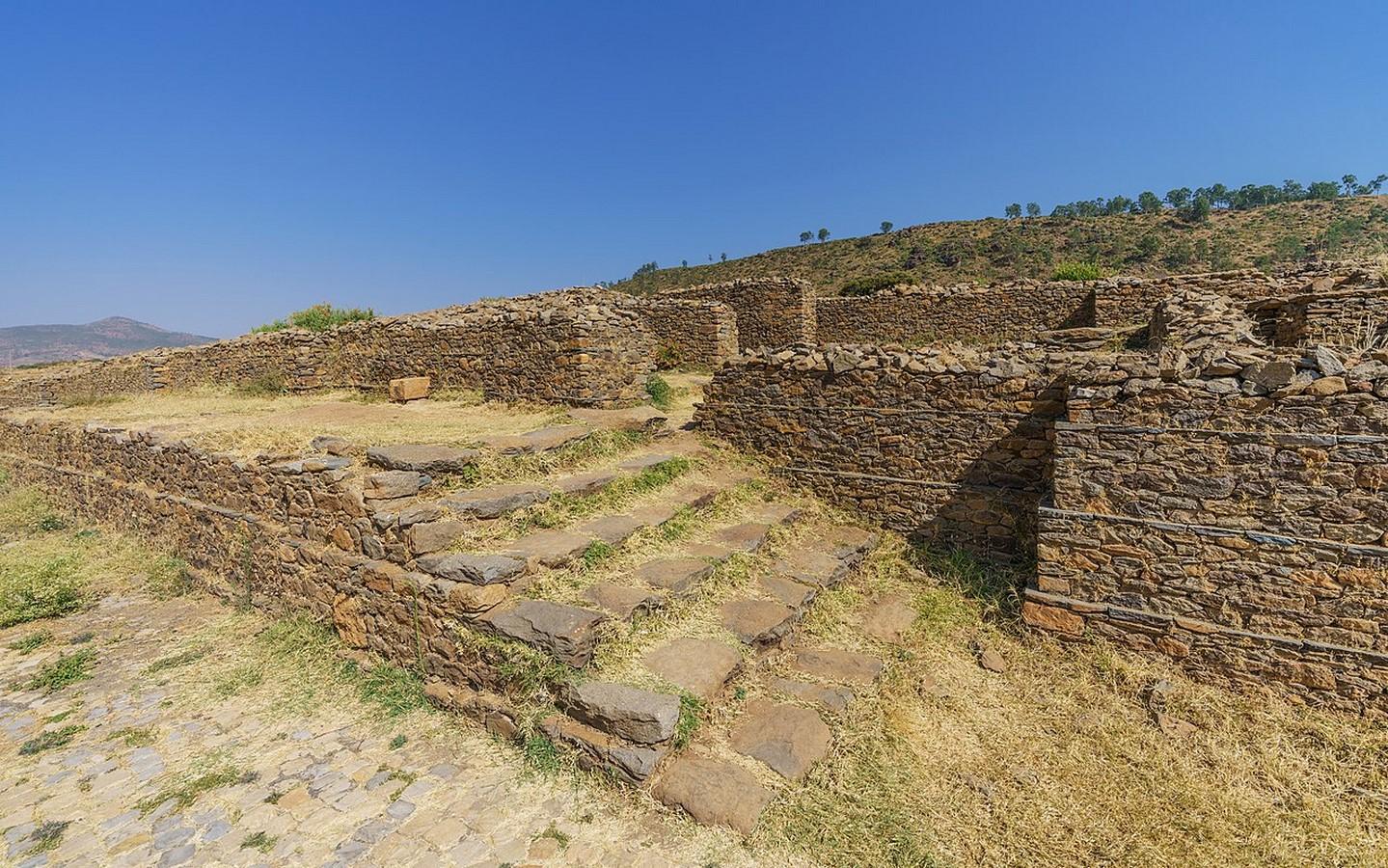 Aksumite architecture: Architecture of Ethiopia - Sheet13