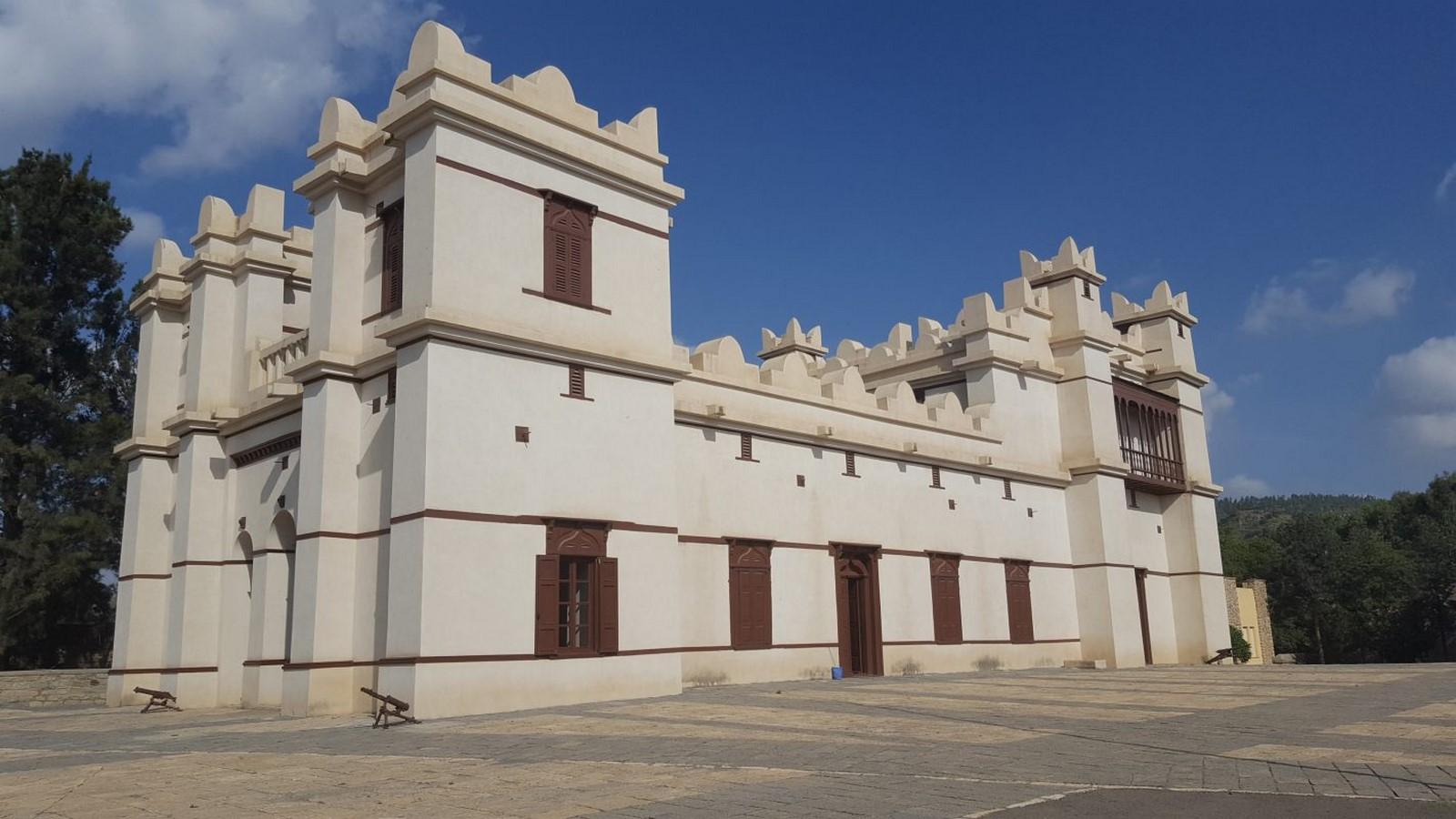Aksumite architecture: Architecture of Ethiopia - Sheet18