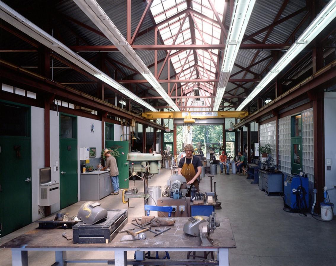 Iron Studio, Penland School of Arts and Crafts Penland, North Carolina ⎥ 2000 Sheet1