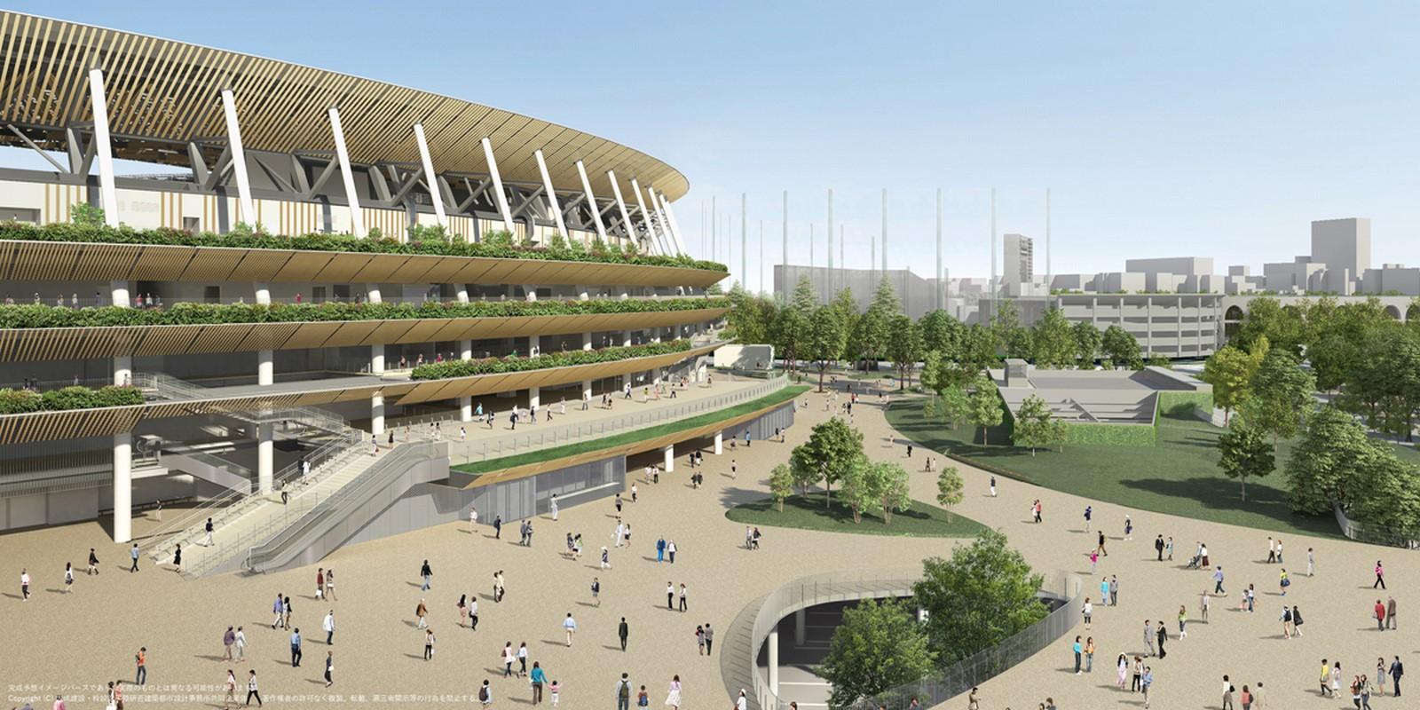 Japan National Stadium - Sheet3