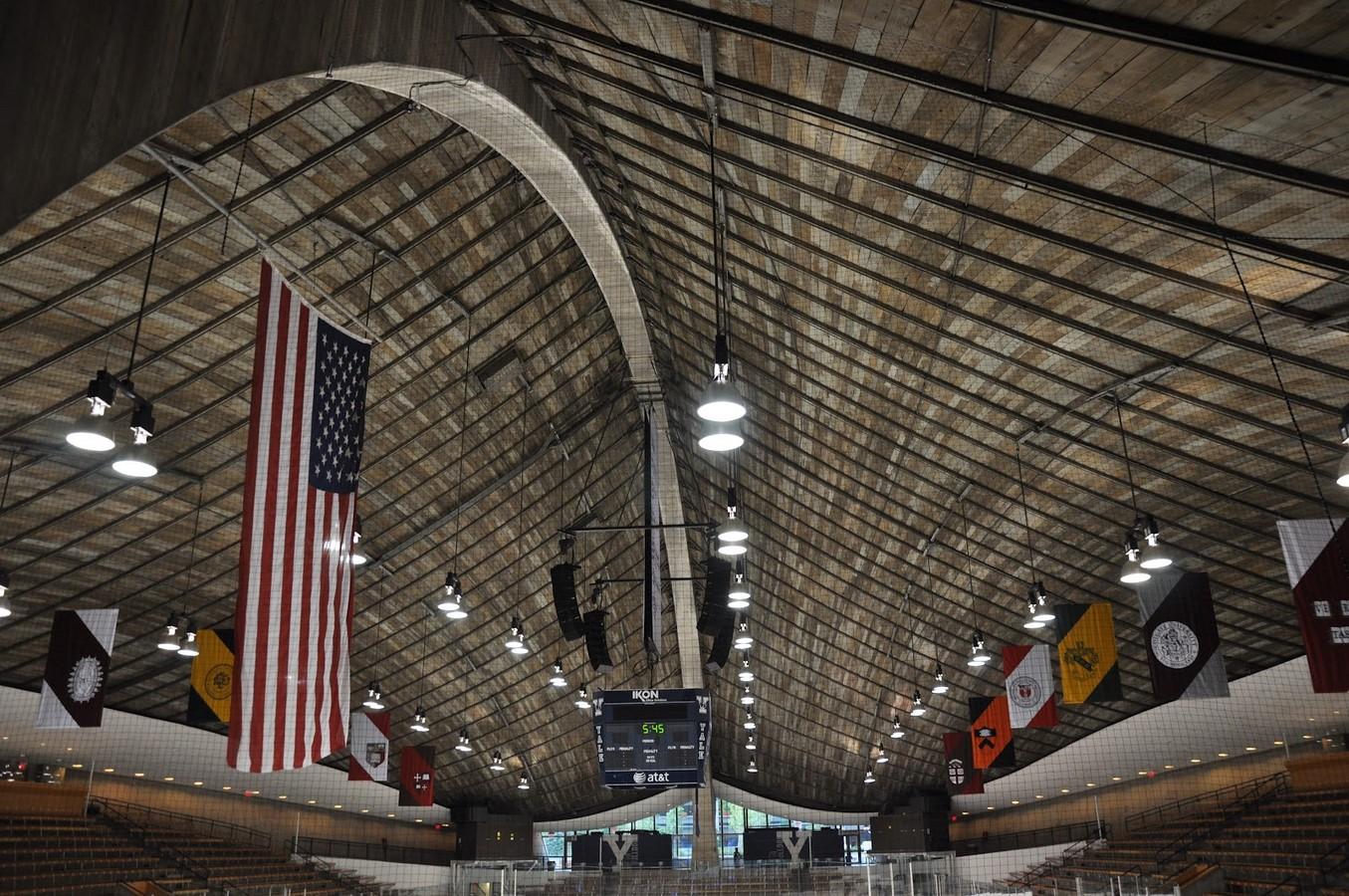 Ingalls Rink by Eero Saarinen: The Yale Whale - Sheet2