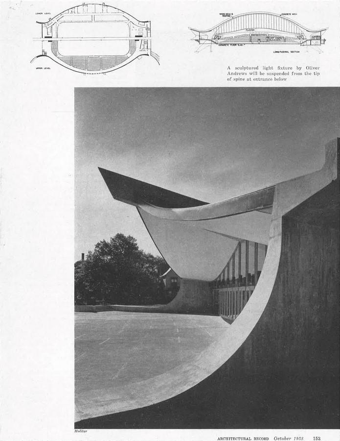 Ingalls Rink by Eero Saarinen: The Yale Whale - Sheet4