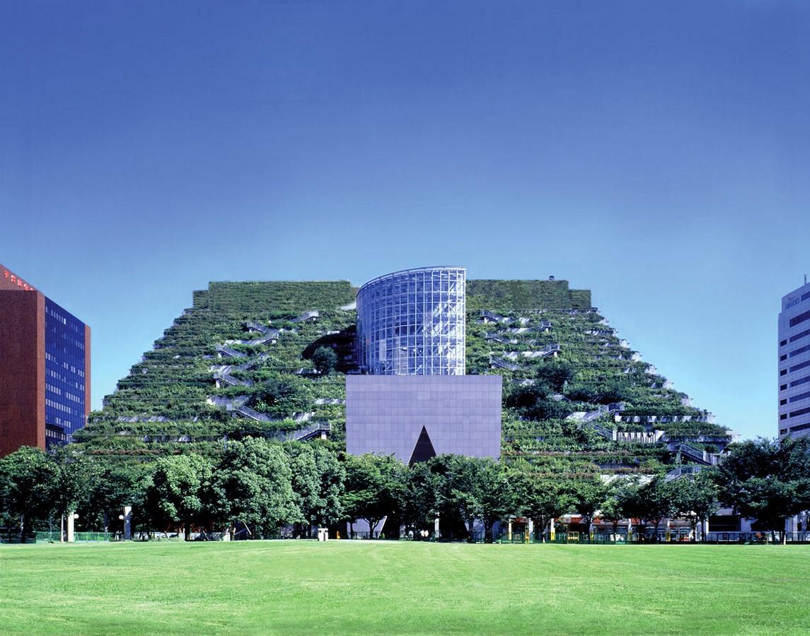 Acros Fukuoka Foundation Building Fukuoka, Japan - Sheet1