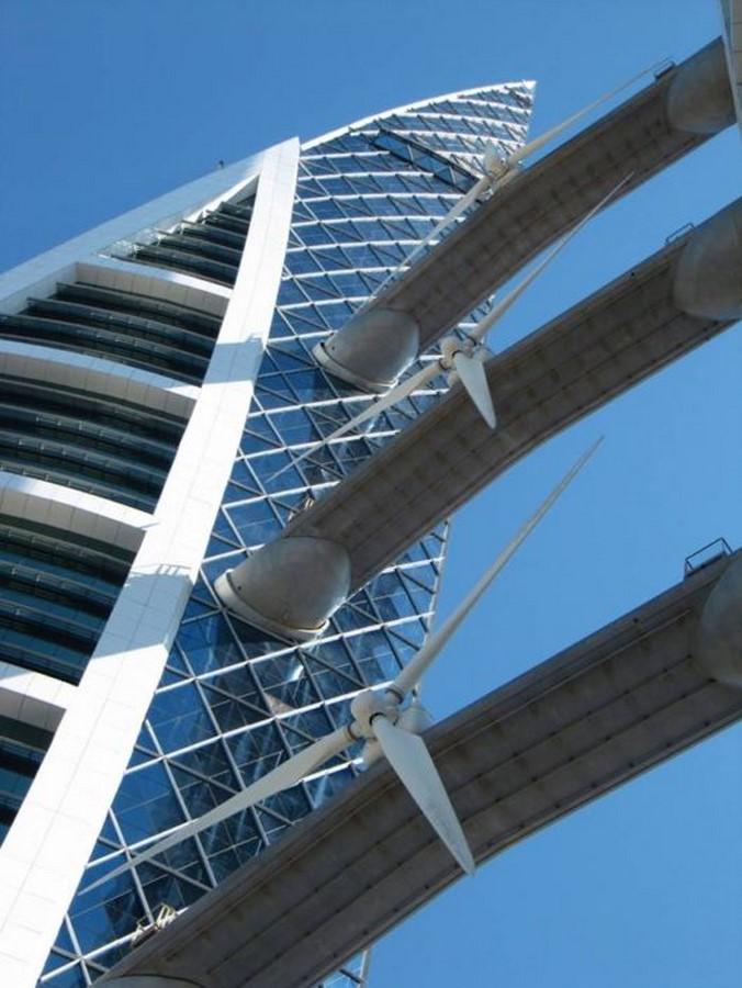 Bahrain World trade center, Manama, Bahrain - Sheet3