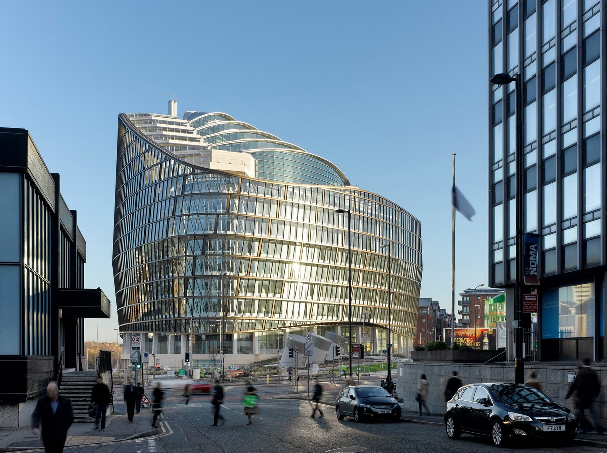 One Angel Square, Manchester, England - Sheet1