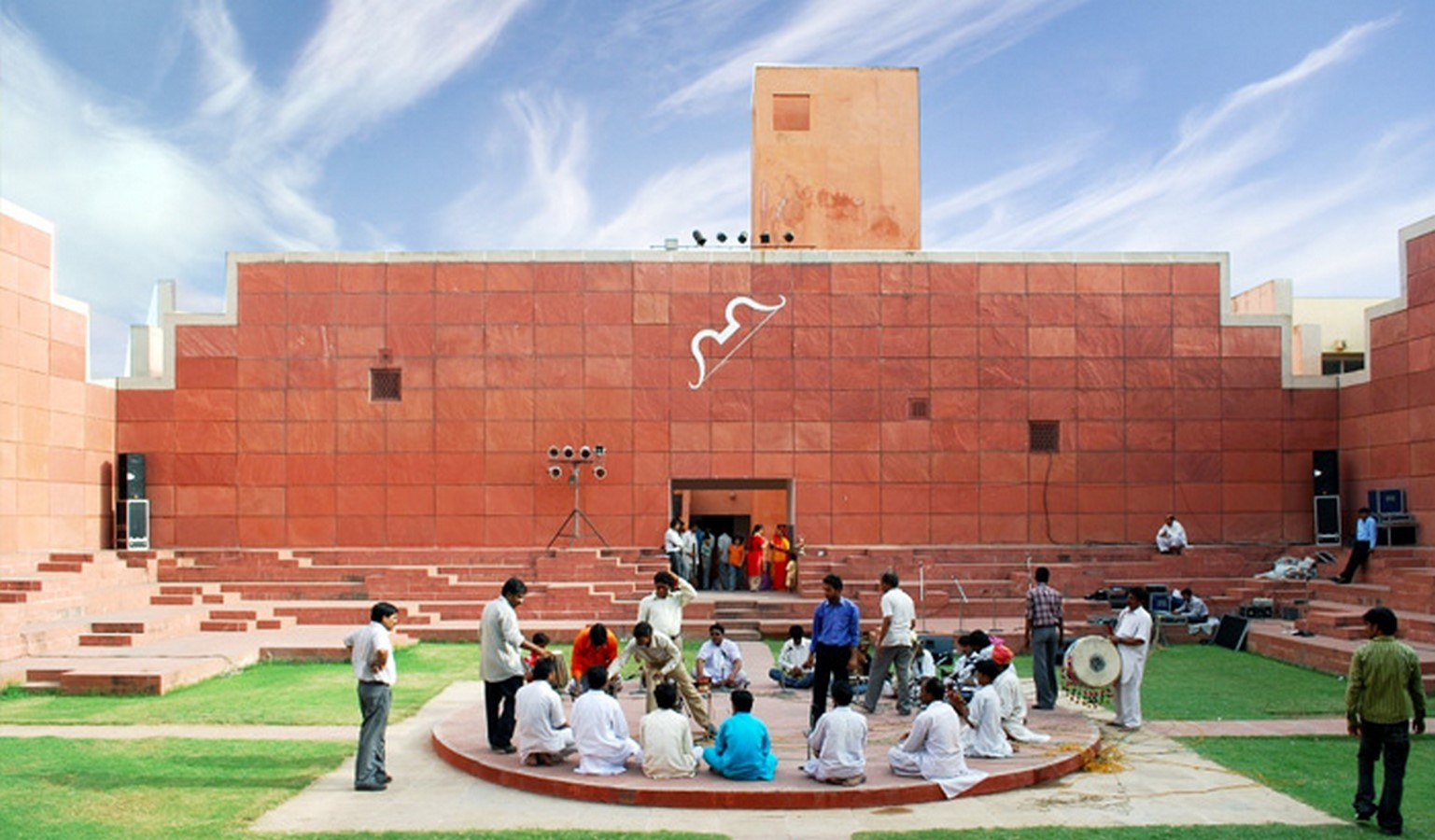 Jawahar Kala Kendra by Charles Correa: Reflection of the city's architectureJawahar Kala Kendra by Charles Correa: Reflection of the city's architecture - Sheet8