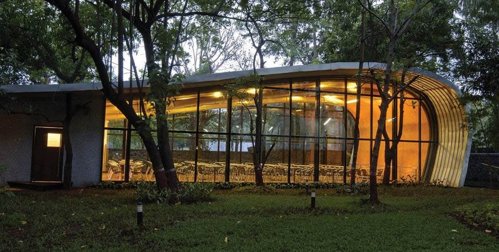 HCC Cafeteria by Sanjay Puri Architects: Coinciding with the surroundings - Sheet1