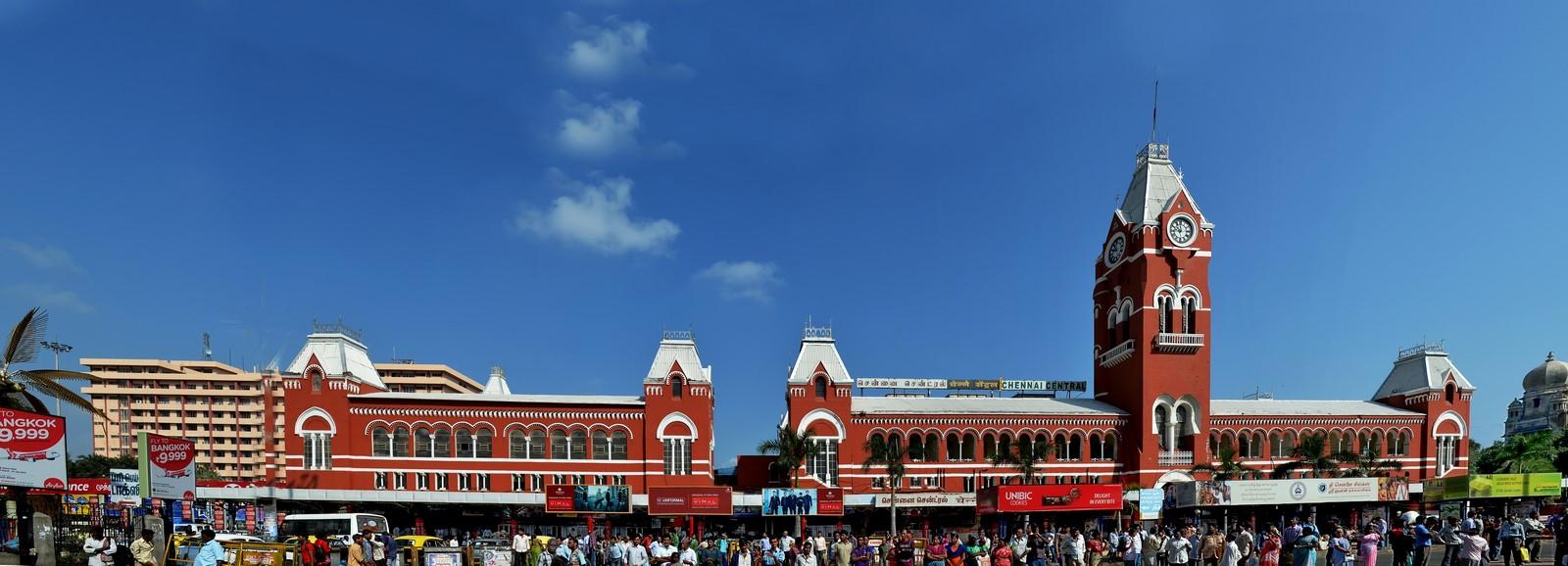 Chennai Central Railway Station - Sheet1