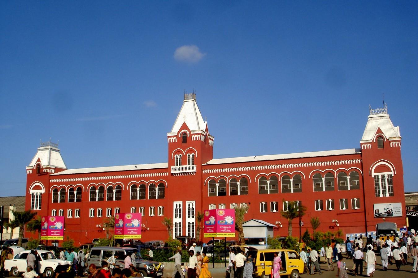 Chennai Central Railway Station - Sheet2