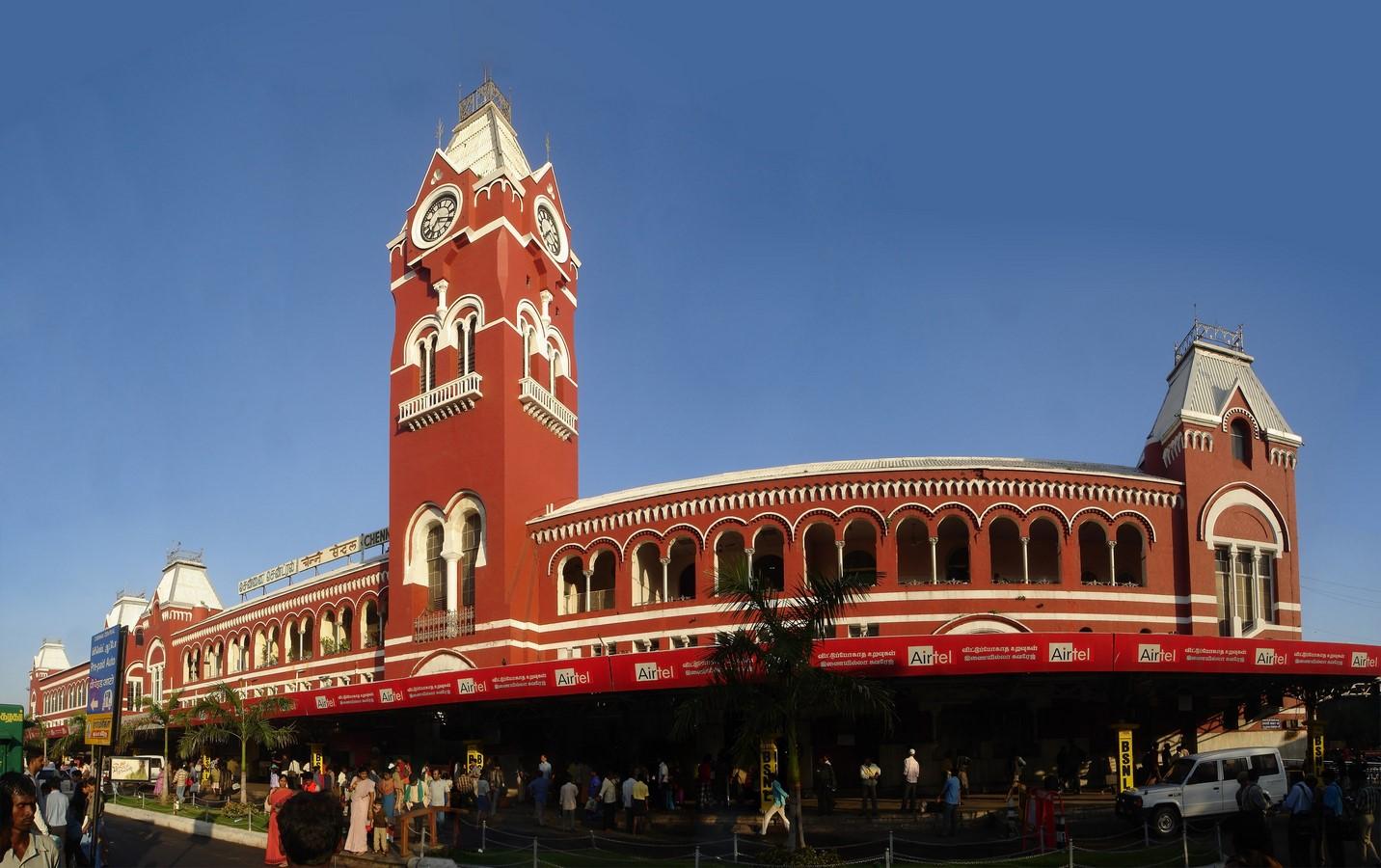 Chennai Central Railway Station - Sheet3
