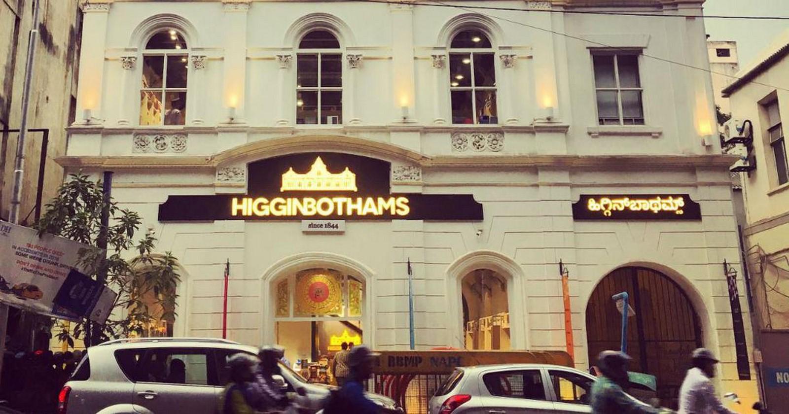Higginbotham's - Sheet3
