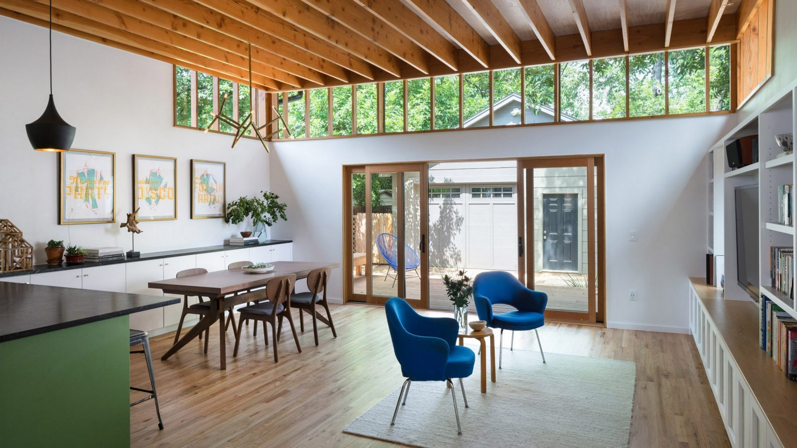 Renovated Texas Bungalow by Murray Legge Architecture - Sheet1