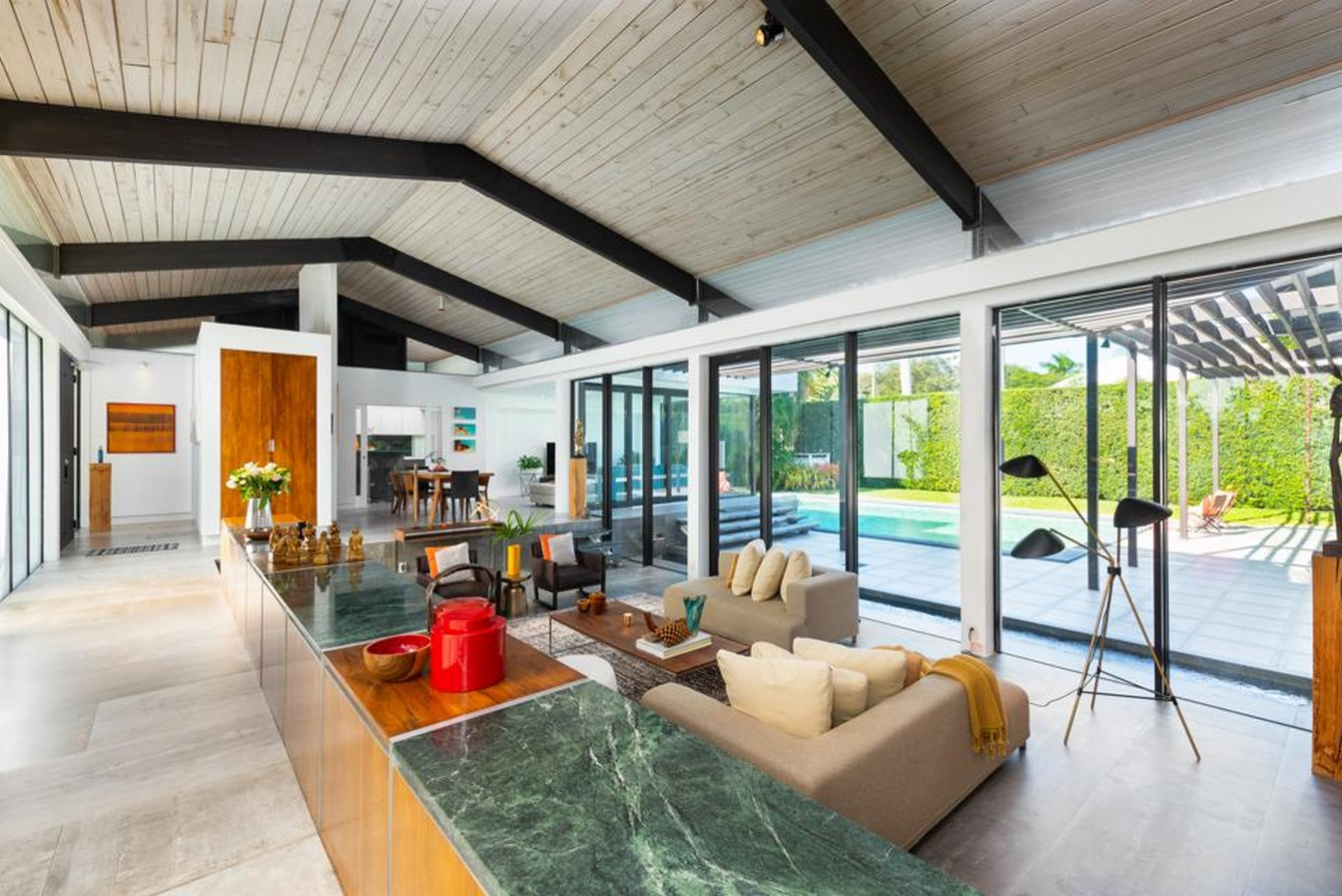 Mid-century Modern Miami Estate by Henry End - Sheet1