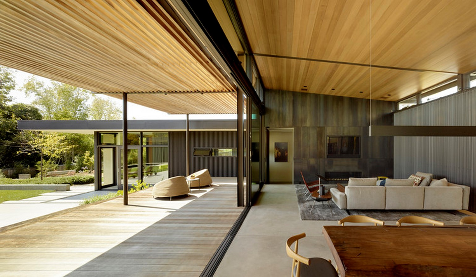 Mill Valley Courtyard Residence by Aidlin Darling Design - Sheet1