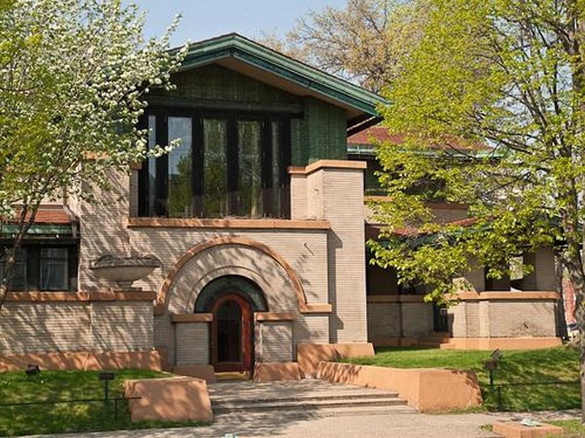 Dana Thomas House by Frank Lloyd Wright: A Prairie School Style House - Sheet1