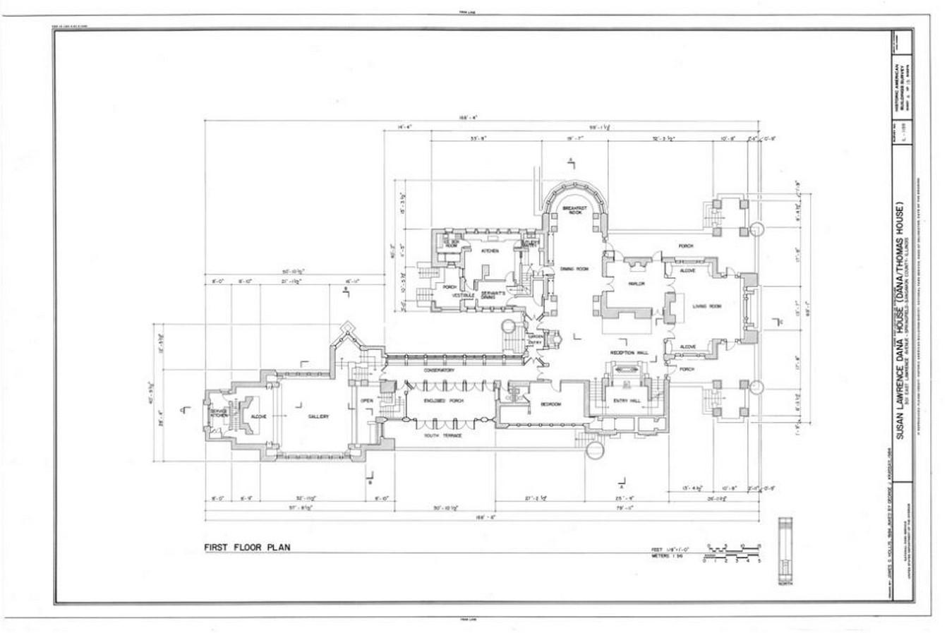 Dana Thomas House by Frank Lloyd Wright: A Prairie School Style House - Sheet9