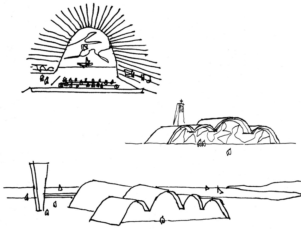 Church of Saint Francis of Assisi by Oscar Niemeyer: A Scandal in city's conservative culture - Sheet1
