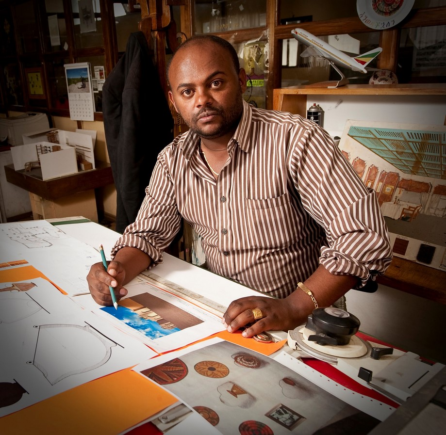 Youtube for Architects: Ethiopian Architect Eyob Enkosa, Masters At Work by Kana Television - sheet1