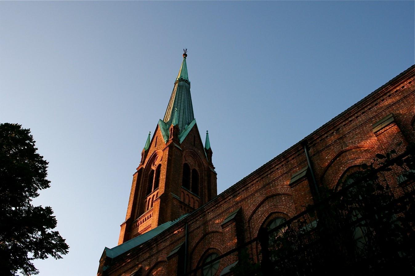 Uranienborg Church - sheet1
