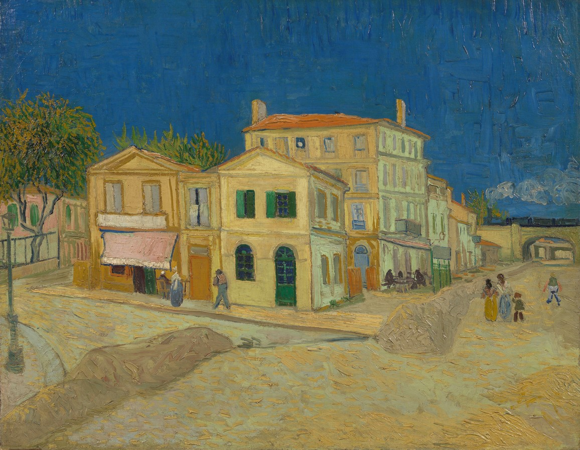 10 Things you did not know about the Yellow House by Vincent van Gogh - Sheet1