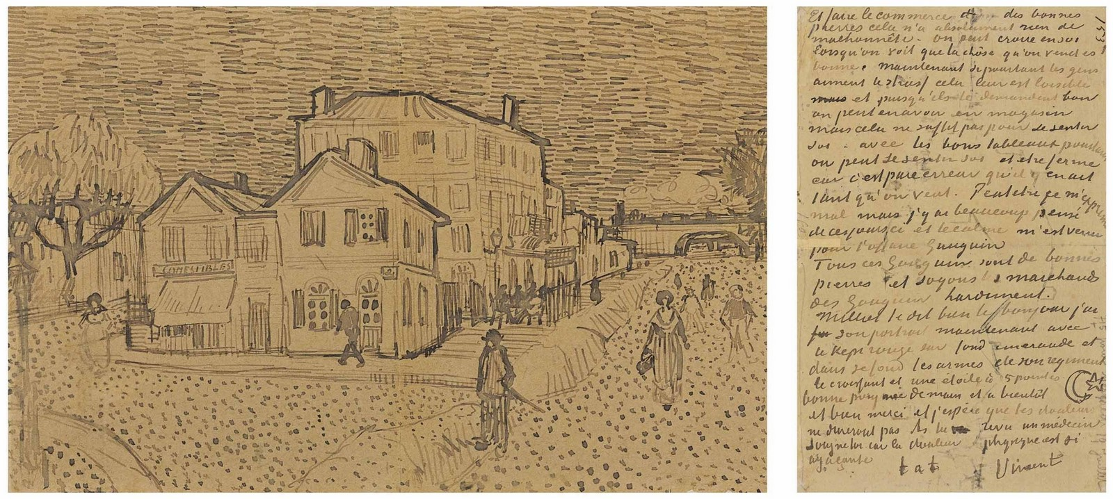 10 Things you did not know about the Yellow House by Vincent van Gogh - Sheet3