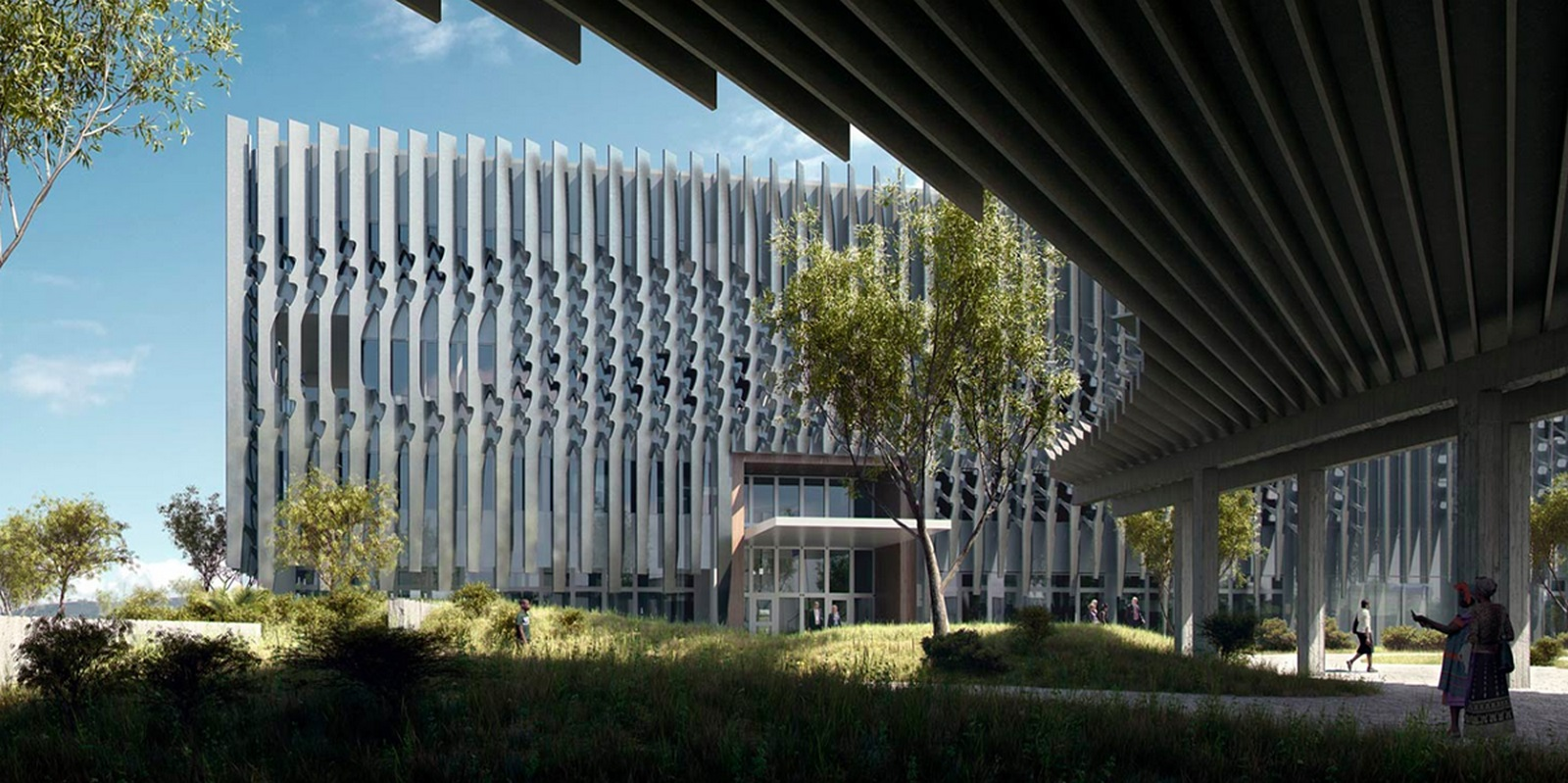 US Embassy Maputo / Allied Works Architecture - Sheet1